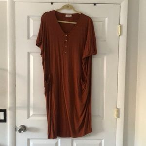 Dwell and Slumber cocoon style house dress